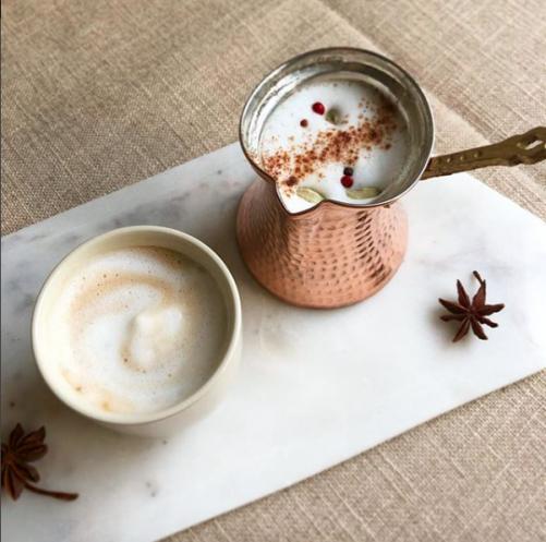 diabetic-friendly chai latte