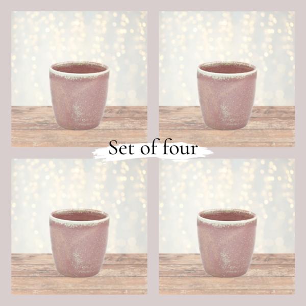 Rose Set of 4